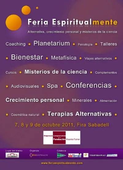espiritualmente1 - Feria Espiritualmente en Sabadell (Barcelona)