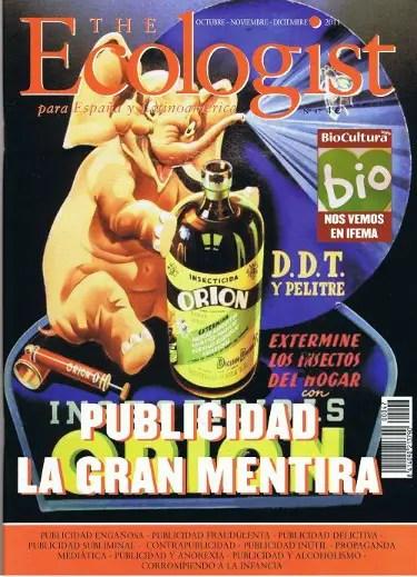 Ecologist - publicidad - portada