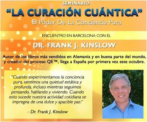 kinslow - Frank Kinslow y su curación cuántica en Barcelona