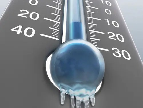 termometro helado