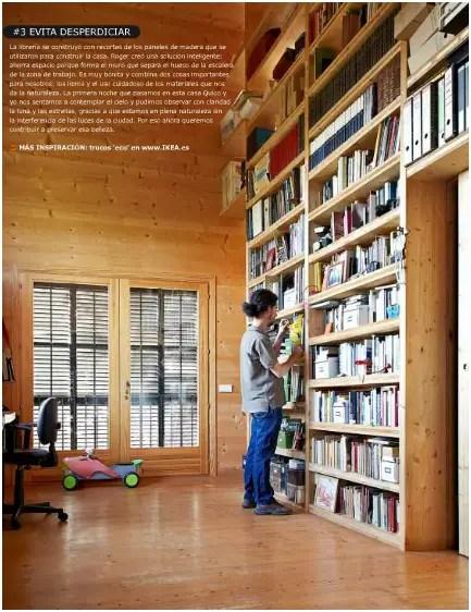 ikea2 - Una casa sostenible de madera en la revista de Ikea Family: otra familia neorural