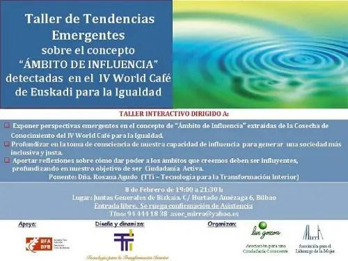 ambitoinfluencia2 - Taller de Tendencias Emergentes, Bilbao, 8 de Febrero