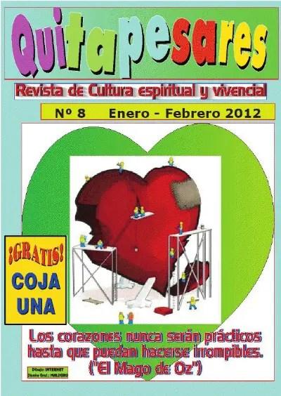 quitapesares - Quitapesares nº 8: revista online de cultura espiritual y vivencial