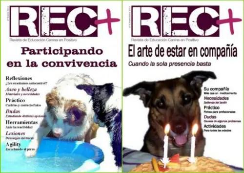 rec - Educación Canina en Positivo: revista online REC+ nº 8 y 9
