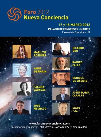 FORO2 - Foro Nueva Conciencia en Madrid: marzo 2012
