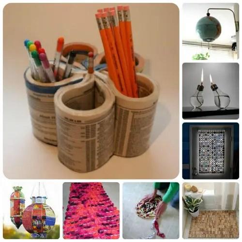 ideas para reciclar reutilizar y decorar