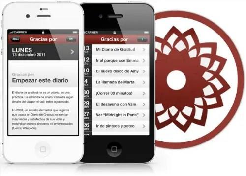 diariodegratitud - DIARIO DE GRATITUD: ya es hora de valorar lo que tenemos (aplicación gratuita para teléfonos iPhone)