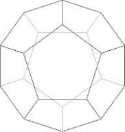 dodecaedro lineal -  EL PENTAGRAMA: El significado arcano de los símbolos: (5)
