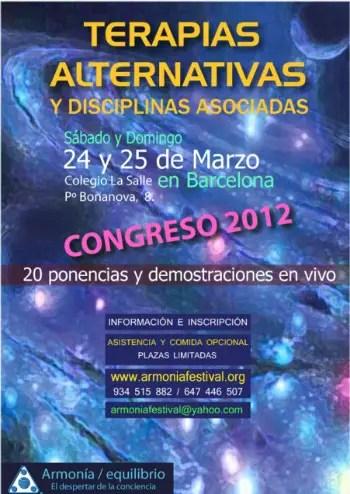 terapias alternativas - Congreso de Terapias Alternativas 2012 en Barcelona