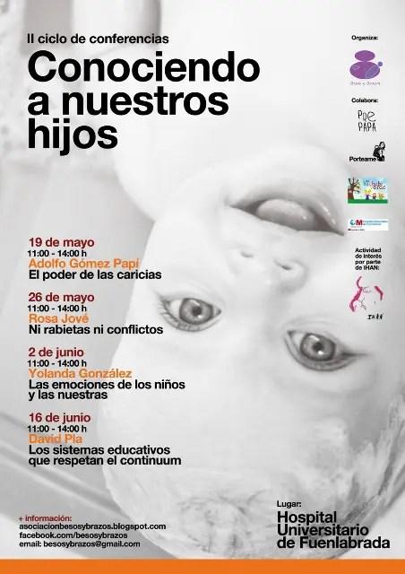 cartel okB web - conociendo a nuestros hijos