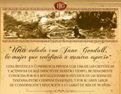 jane2 - Jane Goodall en Barcelona y Valencia, 9-10 de mayo 2012: película-conferencia-cena