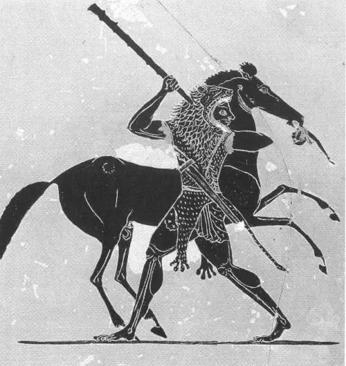yeagua diomedes3 - La captura de las yeguas devoradoras: 1er trabajo de Hércules (1/12)