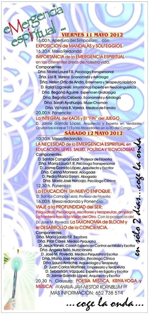 emergencia espiritual bilbao2 - Simposium Emergencia Espiritual en Bilbao (gratuito)