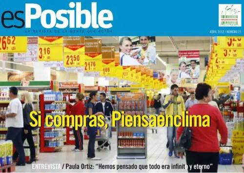 """esposible - """"El consumo no da la felicidad, ni siquiera el ecológico"""". Revista online esPosible 25"""