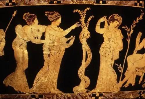 hermanas - Las manzanas de oro del jardín de las Hespérides: 3er trabajo de Hércules