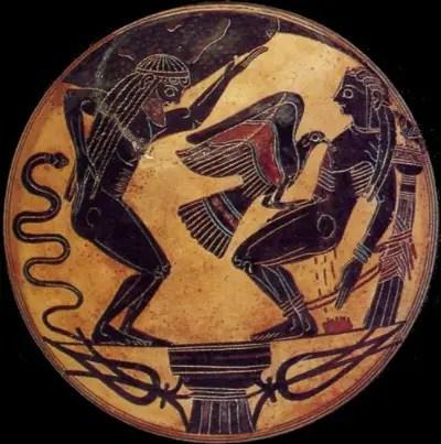 prometeo11 - Las manzanas de oro del jardín de las Hespérides: 3er trabajo de Hércules