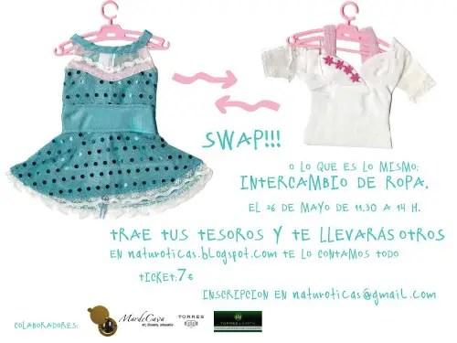swap clothing en Barcelona - El intercambio de ropa ya no es marginal: SWAP CLOTHING en Barcelona