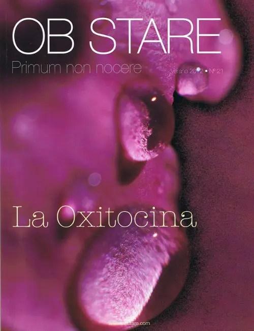 Obstare portada - LA OXITOCINA y todo lo relacionado con esta hormona del amor. Revista Ob Stare nº 21