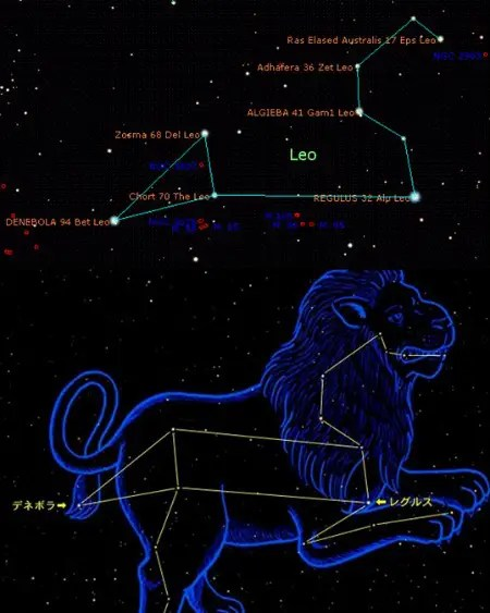 leo - leo constelacion