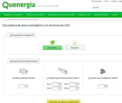 Quenergia - Calculadoras de ahorro de energía. Los viernes de Ecología Cotidiana