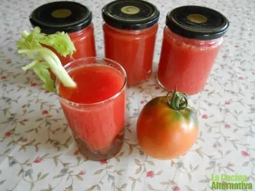 conserva tomate - conserva zumo de tomate natural