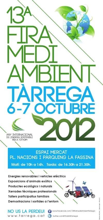 fira tarrega - 13ª Feria de Medio Ambiente en Tárrega (Lérida)