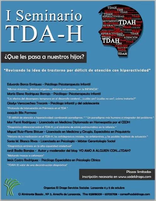 seminario tda h - ¿Qué les pasa a nuestros hijos? Seminario crítico TDA-H
