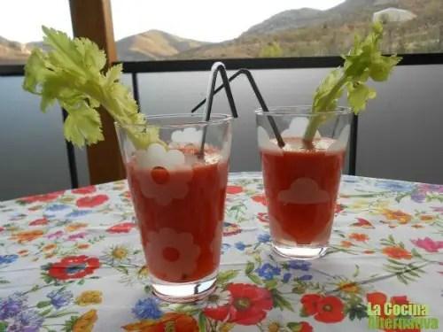 zumo de tomate afrodisiaco