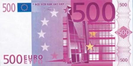 500 euros - 500 euros