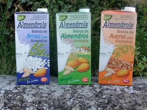 Almendrola ecologica - Almendrola ecologica - Bebidas de almendras arros y avena