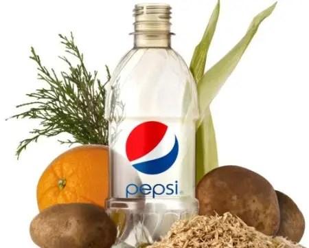 Botella Pepsi orgánica - Botella Pepsi organica
