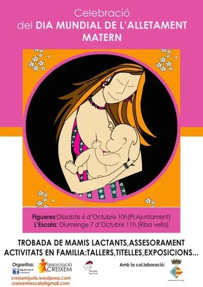 "CARTELL LACTANCIA 2012 - Semana Mundial de la Lactancia Materna 2012: vuelven las ""tetadas colectivas"""