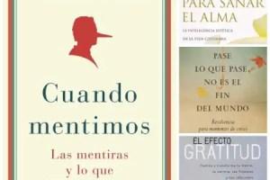 Collage de Picnik - SORTEO mundial de 4 lotes de libros incluyendo Cuando Mentimos de Robert Feldman