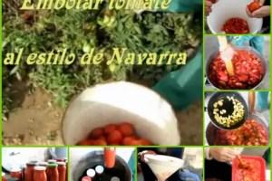 Collage de Picnik3 - Cómo hacer conserva de tomate frito en gran cantidad: vídeo