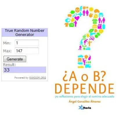 Ganadores sorteo A o B Depende - Ganadores sorteo A o B - Depende