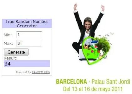 Ganadores sorteo Biocultura Barcelona 2011 - Ganadores sorteo Biocultura Barcelona 2011