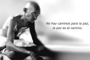 """Gandhi paz - Reflexiones sobre """"La Vía Pacifica"""". La Gran Transición"""