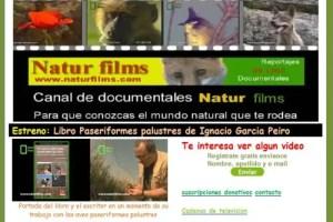 Natur Films - Documentales gratuitos para concienciar sobre el medio ambiente