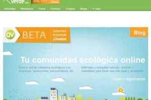 Queremos Verde1 - QUEREMOS VERDE. Tu red social de consumo verde. Los viernes de Ecología Cotidiana