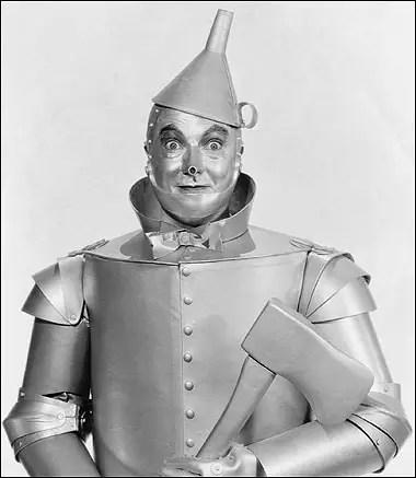 TinMan - El Hombre de Hojalata: arquetipos en El Mago de Oz -1-