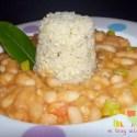 alubia quinoa - Alubias con quinoa y verduritas