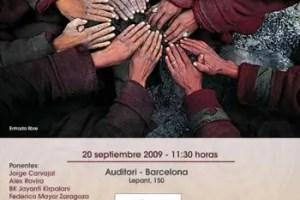 ananta - CONTIGO SOMOS + PAZ. Barcelona 20 de septiembre 2009