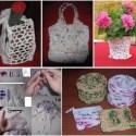 bolsas plastico tejer - TEJER CON BOLSAS DE PLÁSTICO: artesanía ecológica y solidaria