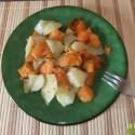 boniato al horno - Receta de boniatos y patatas al horno