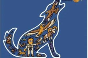 """camiseta Felix - """"Yo quiero ser un lobo"""": camiseta de Kukuxumusu en honor a Félix Rodríguez de la Fuente"""