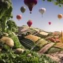 carl warner foodscape 2 - Los consumidores desean que la alimentación ecológica sea mayoritaria, pero no todos lo creen posible a corto plazo