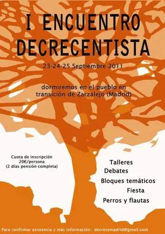 cartel encuentro decrecentista ii - cartel_encuentro_decrecentista ii