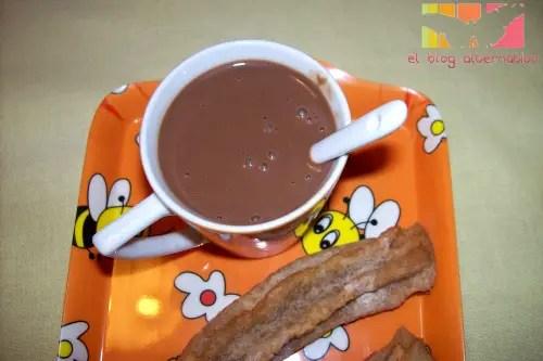 chocolate taza - chocolate a la taza