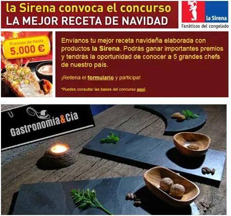 concurso cocina - concurso-cocina la sirena gastronomía y cía