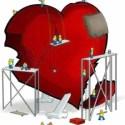 corazon herido - DESAMOR: cómo transformar el dolor de una ruptura en paz, claridad y amor por uno mismo